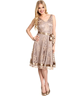 Tahari by ASL - Metallic Lace Dress