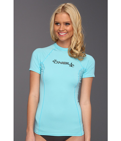 Cheap Oneill Basic Skins S S Crew Turquoise