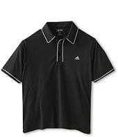 adidas Golf Kids - ClimaLite Piped Solid S/S Polo (Big Kids)