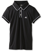 adidas Golf Kids - ClimaLite Solid Piped S/S Polo (Big Kids)
