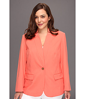 Vince Camuto - Plus Size Inverted Notch Blazer