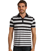 Perry Ellis - Cotton Blend Stripe Knit Polo