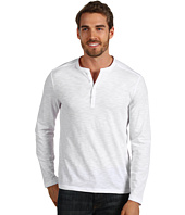 Perry Ellis - Cotton Blend Knit Henley
