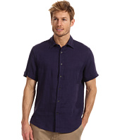 Perry Ellis - Regular Fit Linen Solid S/S Shirt