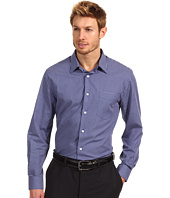 Perry Ellis - Regular Fit Mini Check L/S Shirt