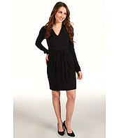 Vince Camuto - Collared Faux Wrap Dress