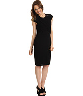 Vince Camuto - Cap Sleeve & Front Drape Dress