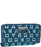 Marc by Marc Jacobs - Dreamy Logo Neoprene Metallic Slim Zippy