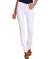MiH Jeans - Oslo Mid-Rise Long Slim Leg in White