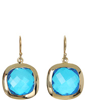 NUNU - Blue Quartz Square Drop Earring