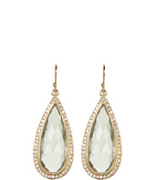 NUNU - Green Amethyst Drop Earring
