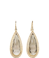 NUNU - Smokey Topaz Drop Earring