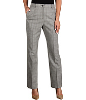 Pendleton - Petite Worsted Wool Glen Plaid True Fit Trouser