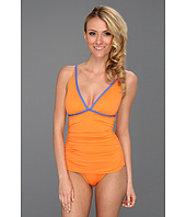 Tommy Bahama - Deck Piping V-Neck OTS Cup One Piece
