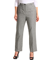 Pendleton - Plus Size Worsted Wool Glen Plaid True Fit Trouser
