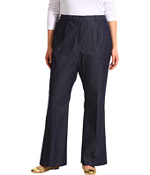 Pendleton - Plus Size Work It Denim Pant in Dark Indigo Stretch