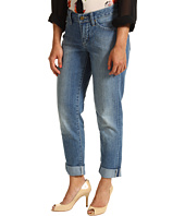 Pendleton - Petite Slim Boyfriend Jean in Cool Blue Stretch Denim