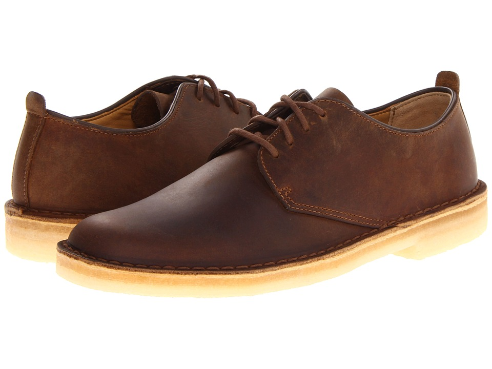 Clarks - Desert London (Beeswax Leather) Mens Lace up casual Shoes