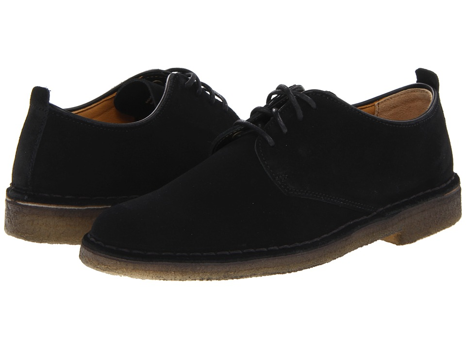 Clarks - Desert London (Black Suede) Men