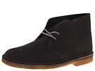 Clarks - Desert Boot (Dark Grey Suede) - Clarks Shoes