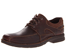 Clarks - Senner Blvd (Brown Tumbled Leather) - Clarks Shoes