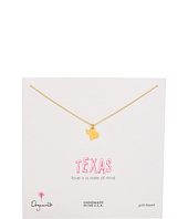 Dogeared - State Of Mind Texas Necklace 18