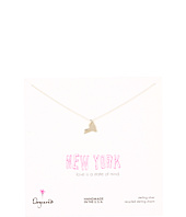 Dogeared - State Of Mind New York Necklace 18