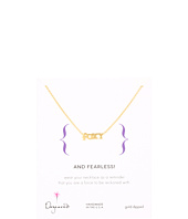 Dogeared - Words To Live By Foxy Necklace 18