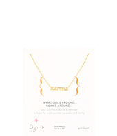 Dogeared Jewels - Words To Live By Karma Necklace 18