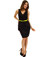 Vince Camuto - Fitted Dress w/ Peplum Detail