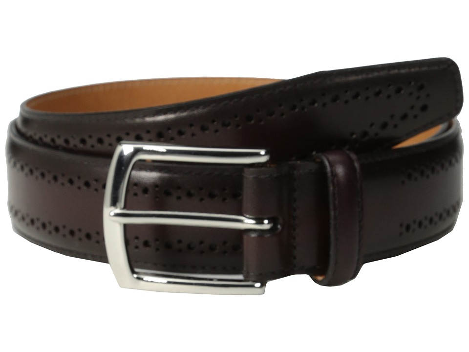Allen Edmonds Manistee Merlot Calf Mens Belts