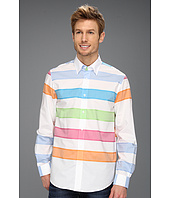 Report Collection - L/S Multiple Color Horizontal Stripe
