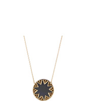 House of Harlow 1960 - Earth Metal Sunburst Station Necklace