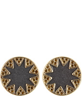 House of Harlow 1960 - Earth Metal Sunburst Stud Earrings