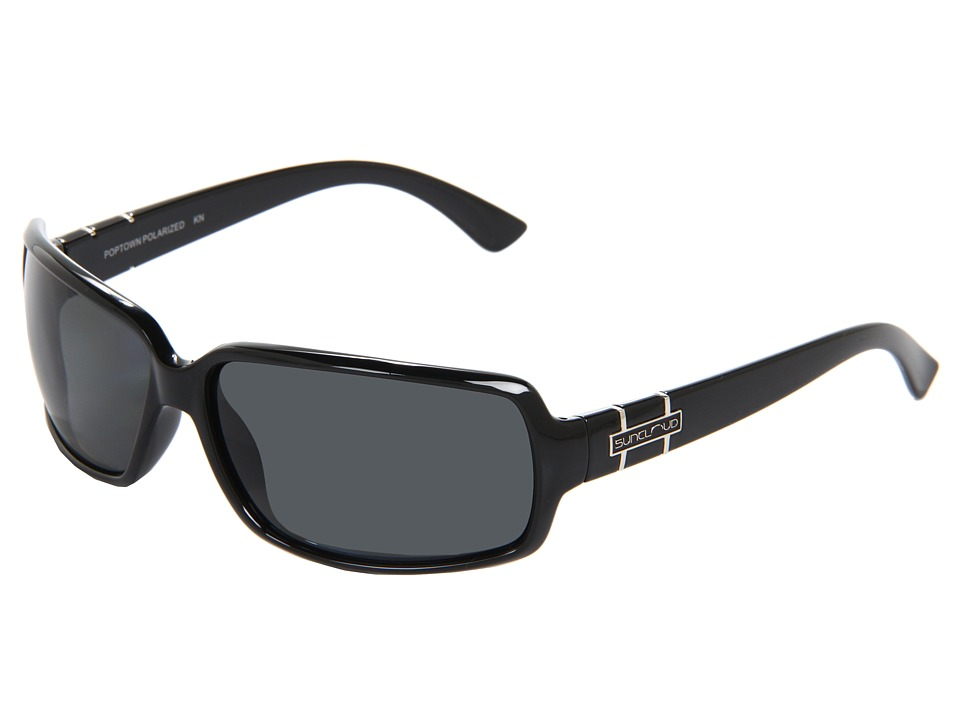 SunCloud Polarized Optics Poptown Black Sport Sunglasses