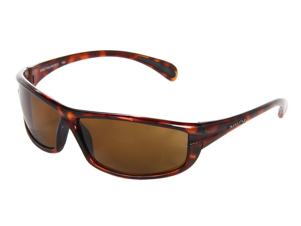 SunCloud Polarized Optics King Tortoise Sport Sunglasses