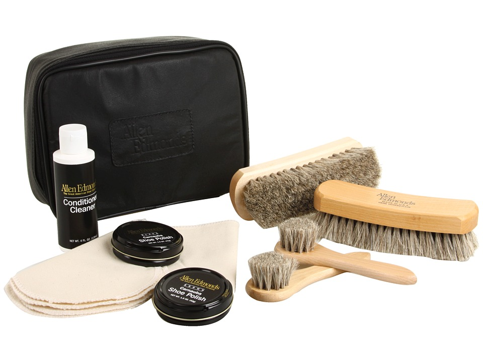 Allen-Edmonds - Leather Shoe Care Kit (N/A) Cleaners