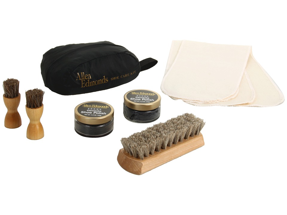 Allen Edmonds - Travel Shoe Care Kit (N/A) Cleaners