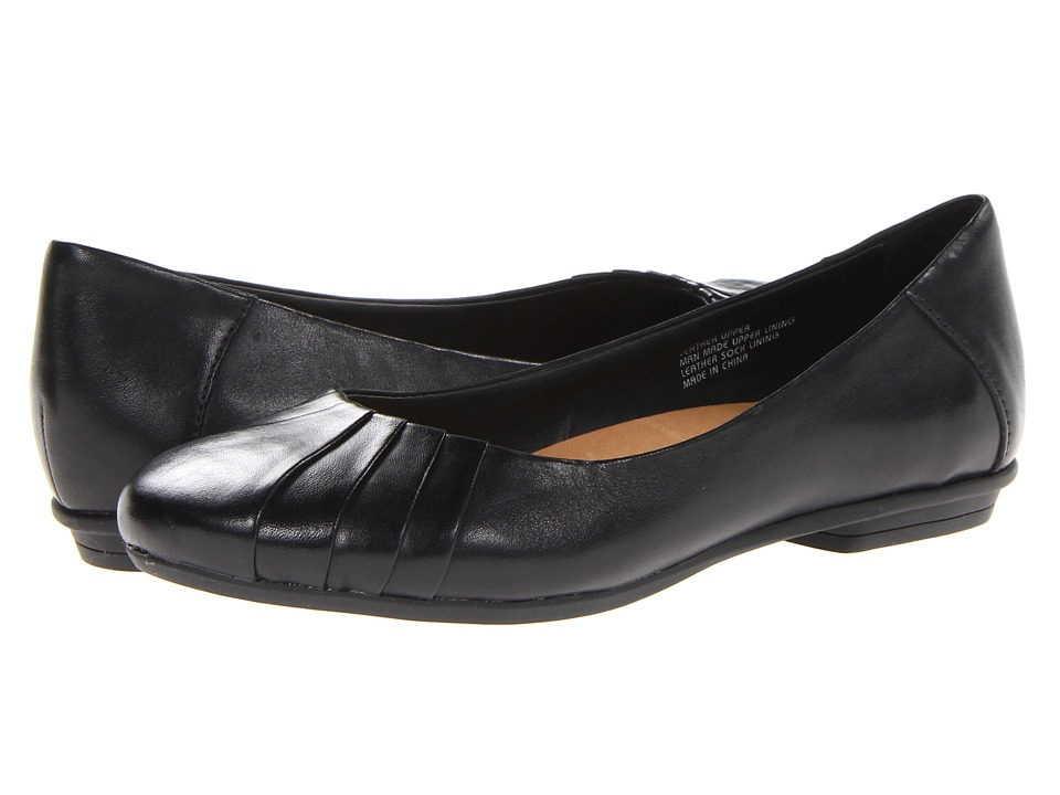 Earth Bellwether Black Full Grain Leather Womens Shoes
