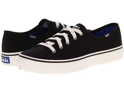 black double up keds