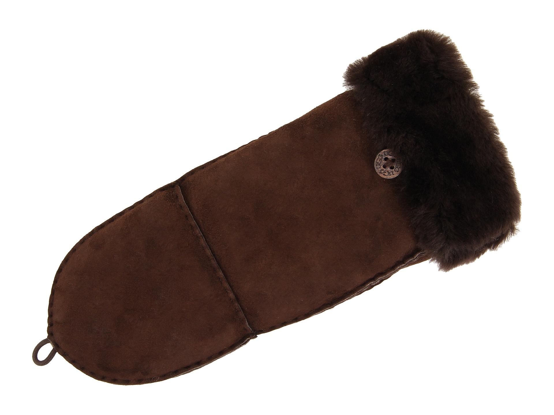 ugg sheepskin flip mitten