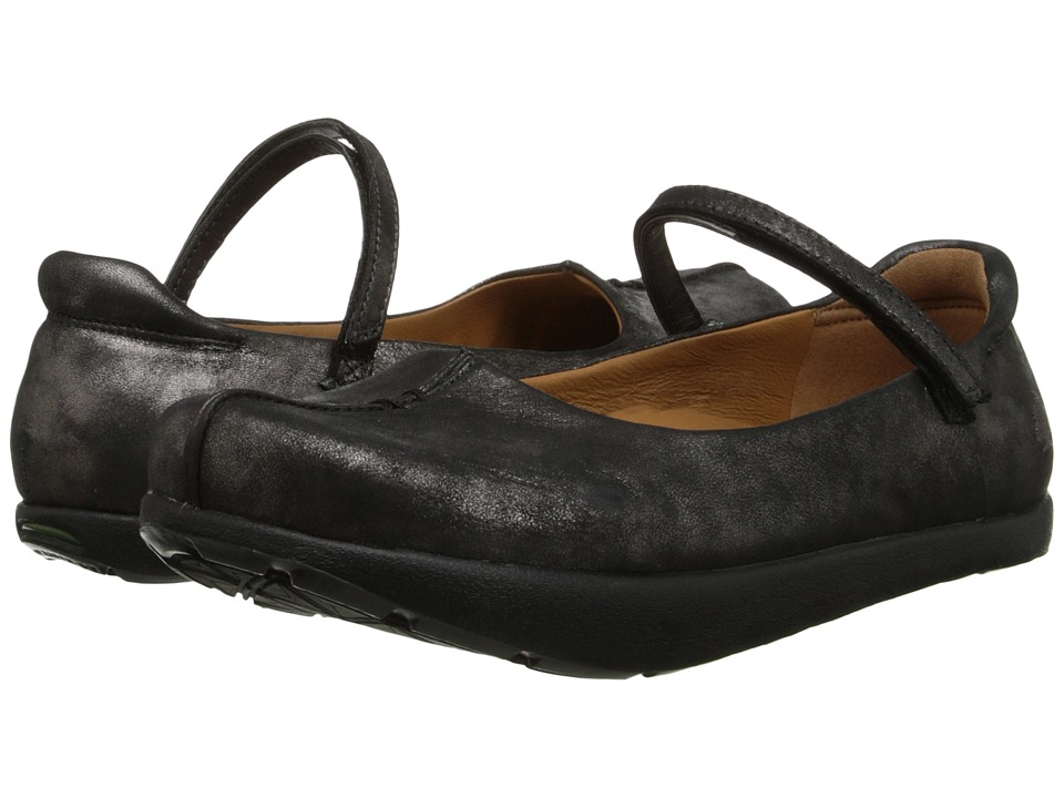 Earth Solar Kalso (Pewter Distressed Leather) Flats