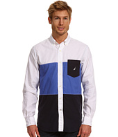 Nautica - Tri-Color Block L/S Shirt