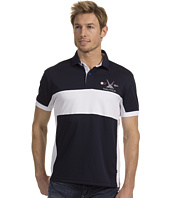 Nautica - Slim Fit S/S Newport Pieced Polo
