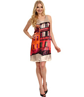 Muse - Urban Printed Trapeze Dress