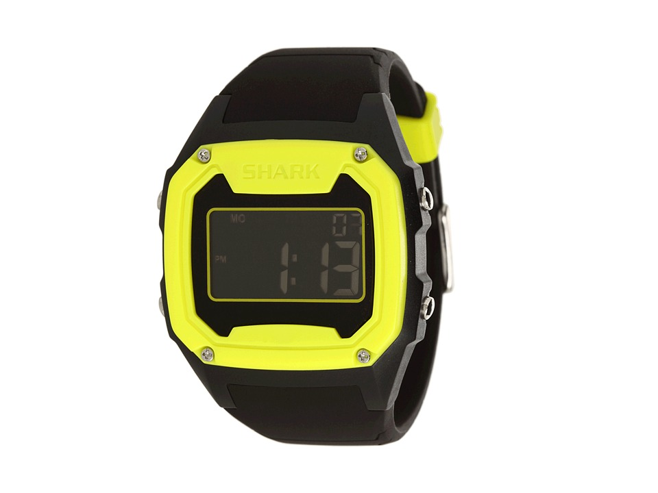 Freestyle Killer Shark Silicone Yellow/Black Watches