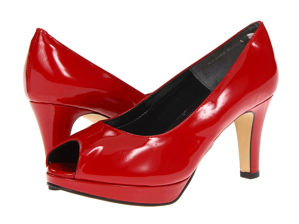 Rose Petals Prom (Red Patent) Women's Shoes
