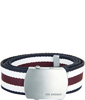 Ben Sherman - Stripe Webbing Belt