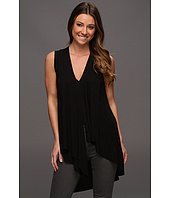 BCBGMAXAZRIA - Cyprien Sleeveless Asymmetrical Top
