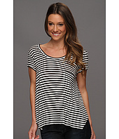 BCBGMAXAZRIA - Kelsey Short Sleeve Pocket Top